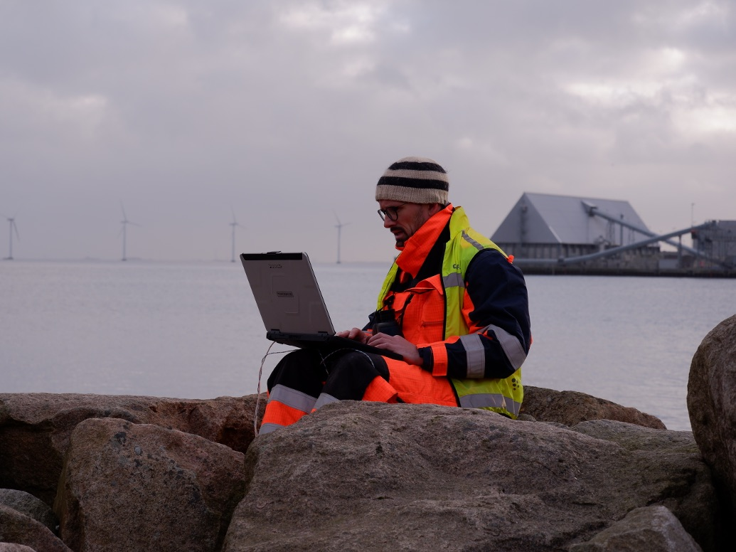 UXO campaign in the harbor of Copenhagen
