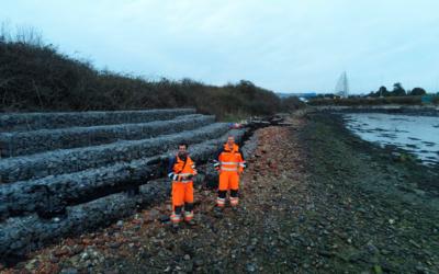 UXO Survey in Porthsmouth, UK.